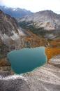 Горное озеро в Саянах