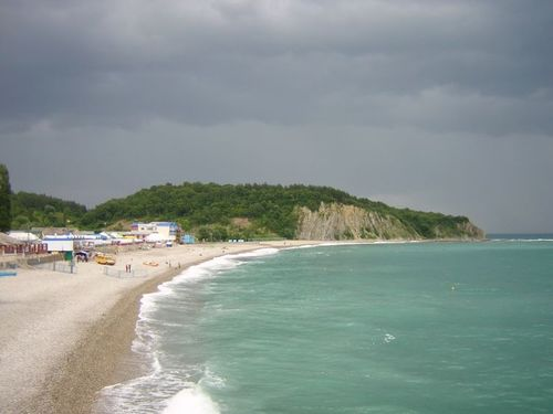Фото с пляжа ольгинки