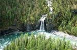 Водопад в Саянах