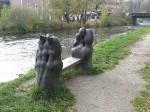 Скамеечка в Чешском Крумлове