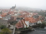 Панорама города Чешский Крумлов