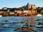 Вид города Стокгольм