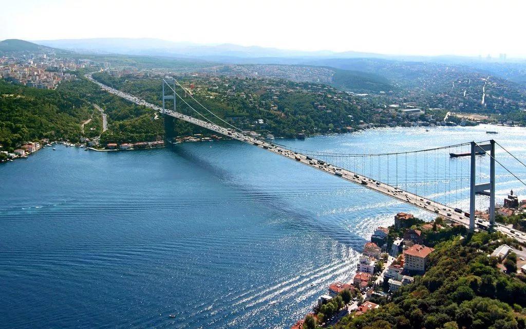 мост через босфор в стамбуле фото