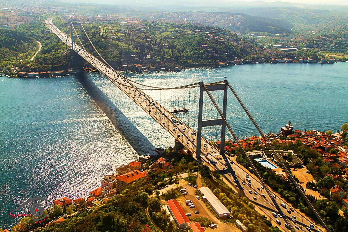Босфорский мост в турции фото