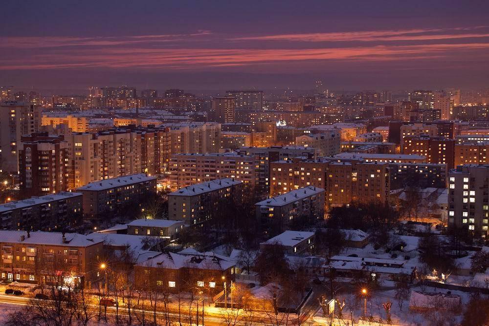 ночные зимние фото екатеринбурга мне написать